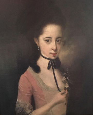 Portrait of Unknown Lady