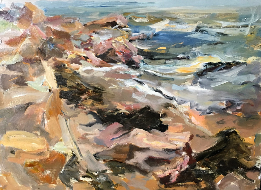 Raoul Middleman paintings, High Tide